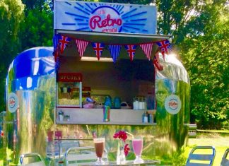 The Little Retro Kitchen is one of the food vendors at the festival