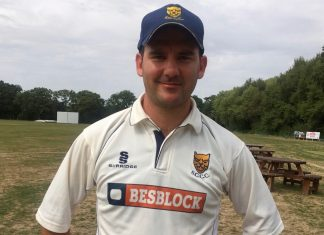 Warrick Fynn top scored for Shropshire in both innings against Dorset and took 11 wickets in the match at Bournemouth