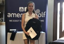 Xyra van der Merwe from Telford Golf Club