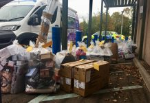 It's thought the goods could be worth around £50,000. Photo: West Mercia Police