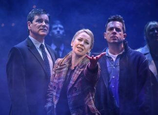Olivier Award nominated British actress Linzi Hateley makes her debut in the seminal role of Mrs Johnstone