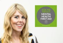 Adrienne Topping is one of Midshire's Mental Health First Aiders