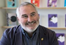 Award winning author and former Children's Laureate Chris Riddell
