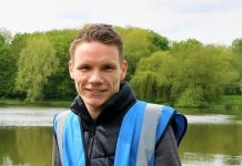 Connor Furnival, a volunteer at CPRE Shropshire