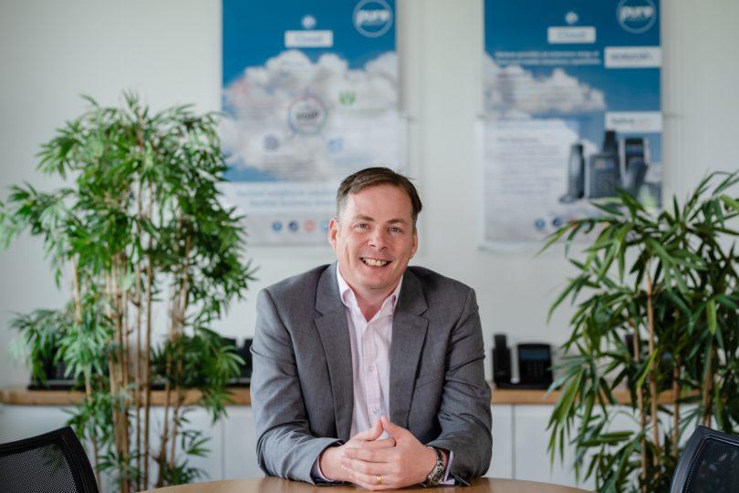 David Hayward, Managing Director of Pure Telecom