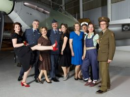 Guests are encouraged to dress to impress. Photo: ©Trustees of the Royal Air Force Museum