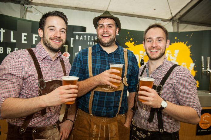 Shropshire Oktoberfest is based around a classic Bavarian beer festival