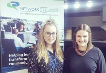 Becky Homersley has joined Network Telecom as Marketing Executive, pictured here with Amelia Ebdon, Marketing Manager
