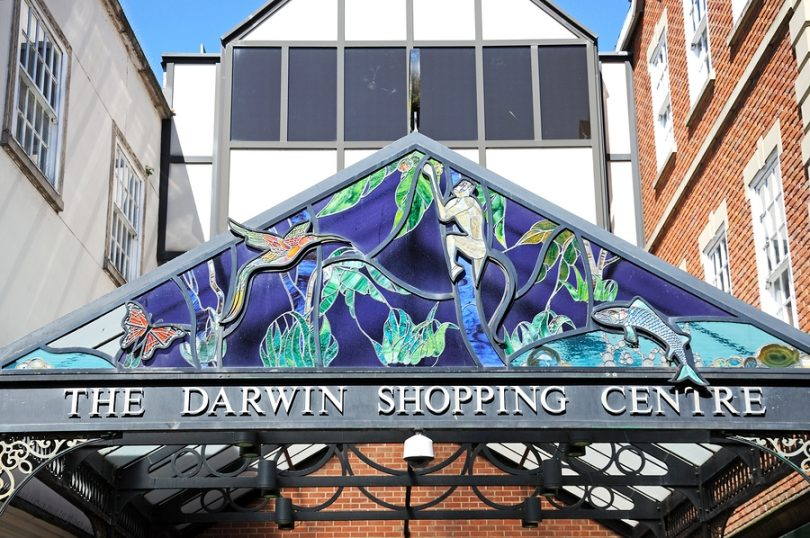 Darwin Shopping Centre, Shrewsbury.