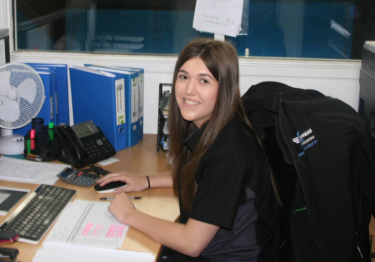 Ellie-Mae Bladen completed her Level 2 Business Administration apprenticeship through County Training