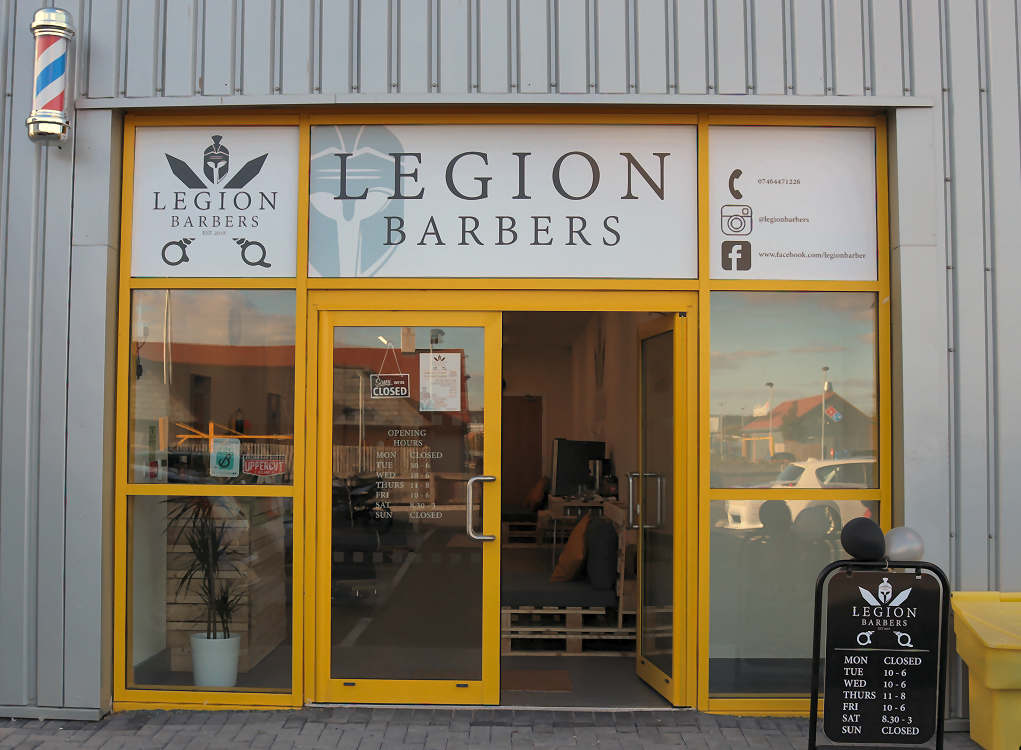 Legion Barbers Shrewsbury