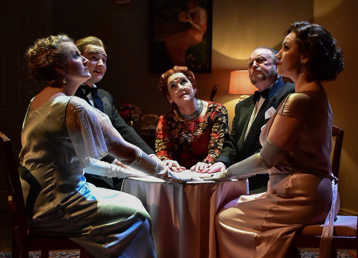 Mad Cow Productions – Blithe Spirit at Theatre Severn