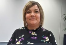 Systems and Administration Department Manager at Martin-Kaye Solicitors, Samantha Azzopardi-Tudor, celebrates the firm's cyber accreditation