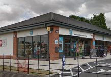 The attempted theft took place at the Co-op on Milners Lane, Lawley Bank. Photo: Google Street View