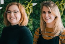 Joanna Xiourouppa and Mhairi McPhillips have joined the team