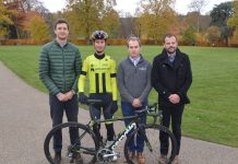 Chris Pook, of Cooper Green Pooks, Liam Holohan, of Holohan Coaching, Bryan Davies of Unvented Components Europe and Ben Lawrence, of independent chartered insurance brokers Beaumont Lawrence