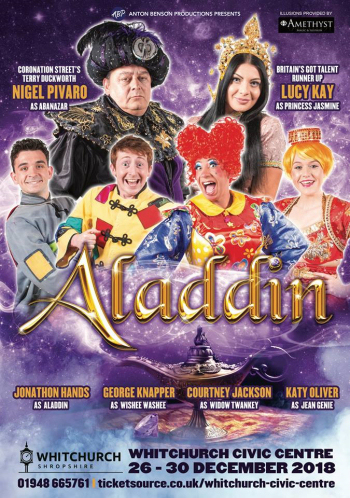 Image result for aladdin pantomime at whitchurch