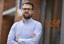 Ben Embrey, who has taken on the newly created role of practice associate at Base Architecture & Design