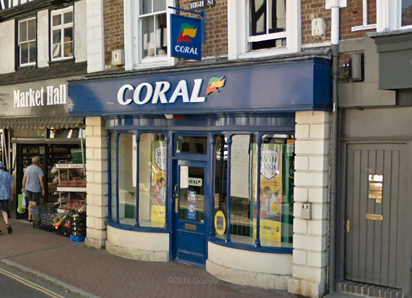 Coral Bookmakers High Street Bridgnorth