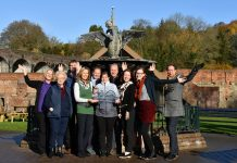 Ironbridge Gorge Museum Trust staff at Coalbrookdale