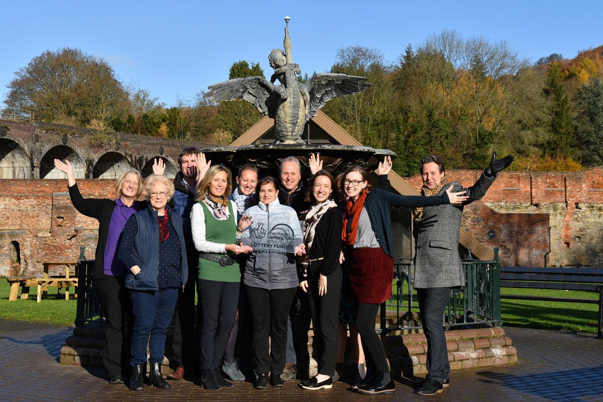 Ironbridge Gorge Museum Trust staff at Coalbrookdale