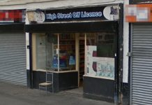 High Street Off Licence in Wellington. Photo: Google Street View