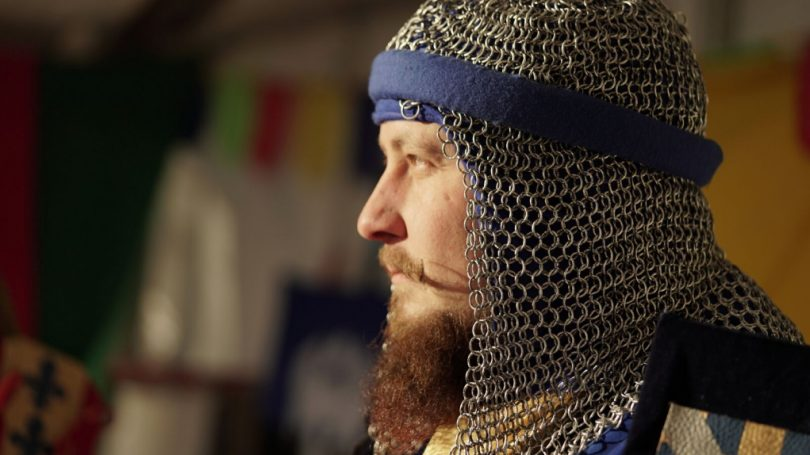 Ludlow's annual Medieval Christmas Fayre - Knight