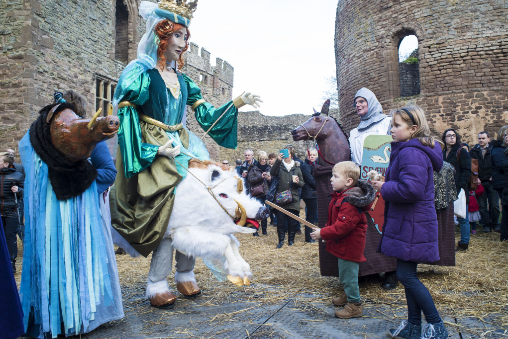 Ludlow's annual Medieval Christmas Fayre