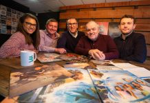Kesh Khatkar, Nick Lovett, Martin Zahra, John Donnelly and Ryan Lovett (all M3)
