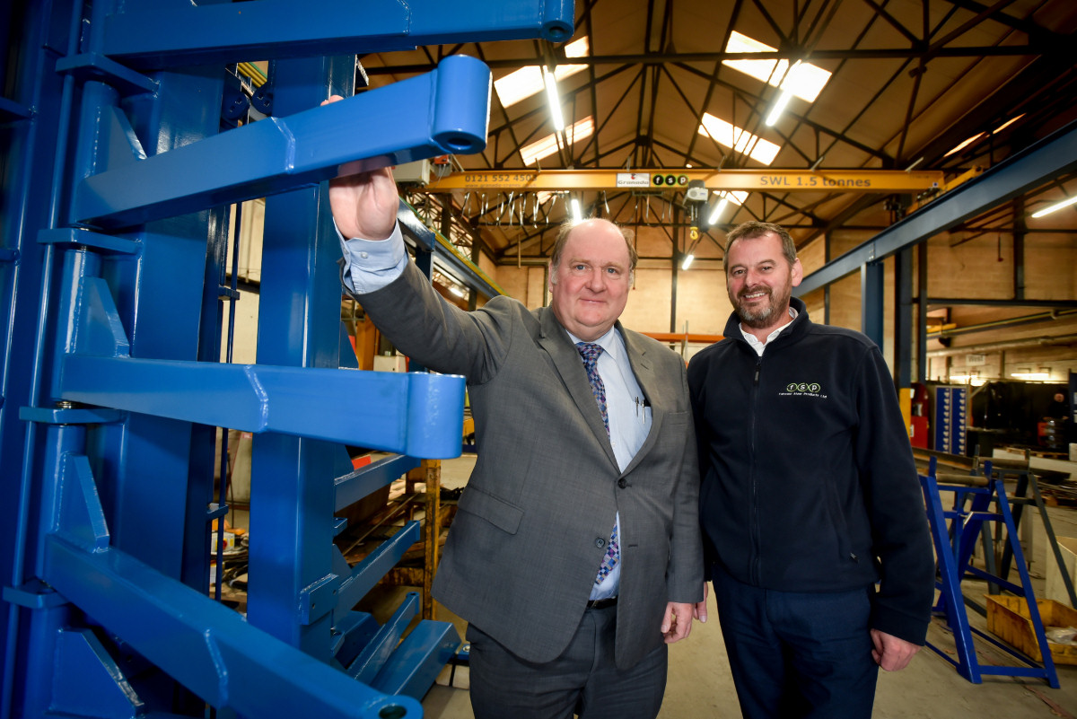 Mark Shaw, left, and Richard Hilton, right, pictured at FSP | FSP aims to grow its turnover and employ new staff with its investment