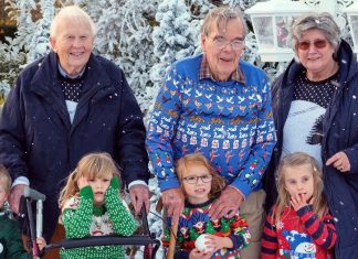 The Old Peoples Home for 4-year-olds will also be bringing intergenerational friends back together for an hour-long Christmas special. Photo: Joss Barratt / Channel 4