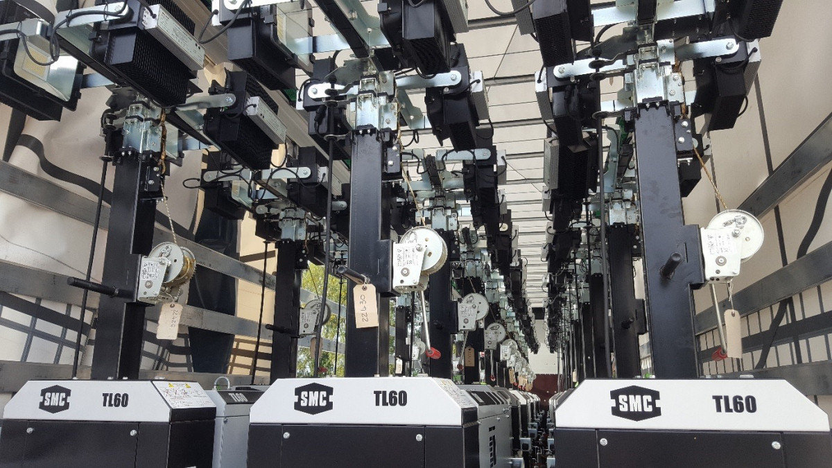 SMC TL60 trolley lights