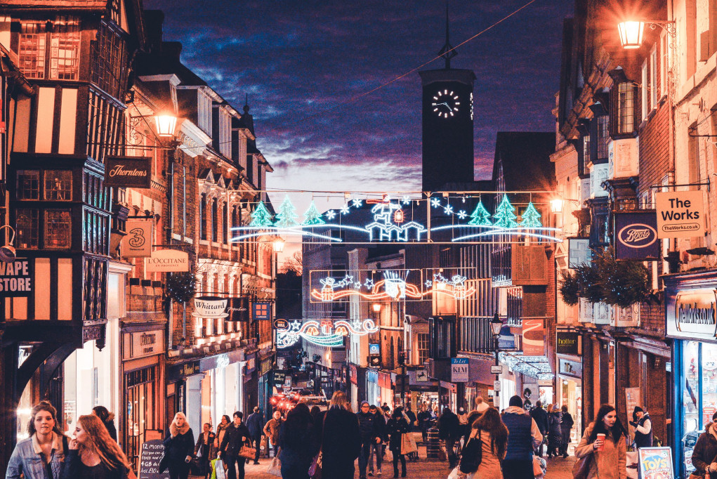 Late night shopping in Shrewsbury will take place every Wednesday from 14th November