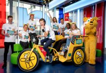 Team Rickshaw returns with a new team and a new set of wheels as they take on a 423 mile route from Calais to Salford – the Tour de Rickshaw