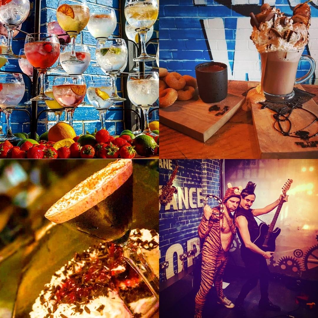 The Pourhouse Xmas collage