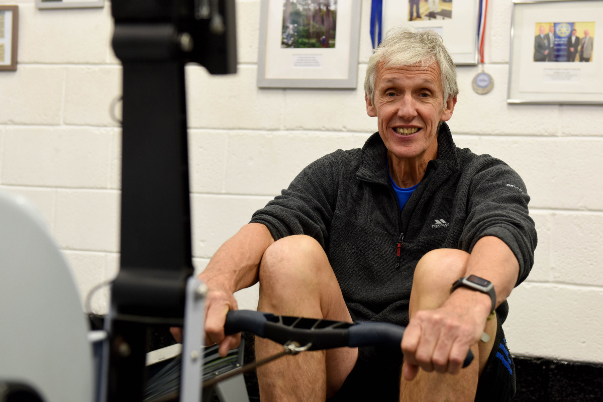 Jim Mostyn of Gym Mostyn based at Wrekin College in Telford