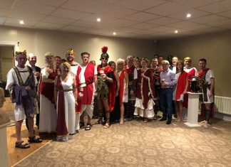 Aaron & Partners LLP hosted a unique Roman-style banquet for its clients