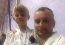 Medal-winning Bridgnorth Tae Kwon-Do father and son Marcin and Albert Makarewicz