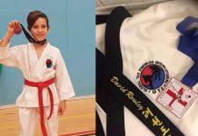 Bridgnorth Tae Kwon-Do student Jack Light and the medal awarded to David Rowley at the International Taekwondo Federation Union European Championships
