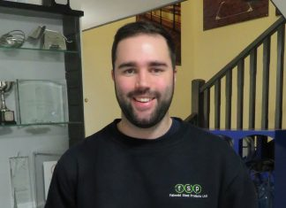 Chris James, the new Production Manager at FSP