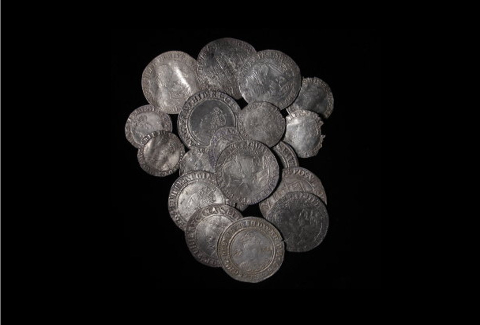 The South Ludlow Hoard is now on display at Ludlow Museum at the Buttercross. Photo: British Museum's Portable Antiquities Scheme