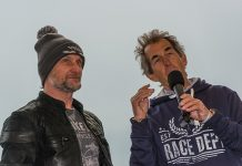 Carl Fogarty and Steve Parrish