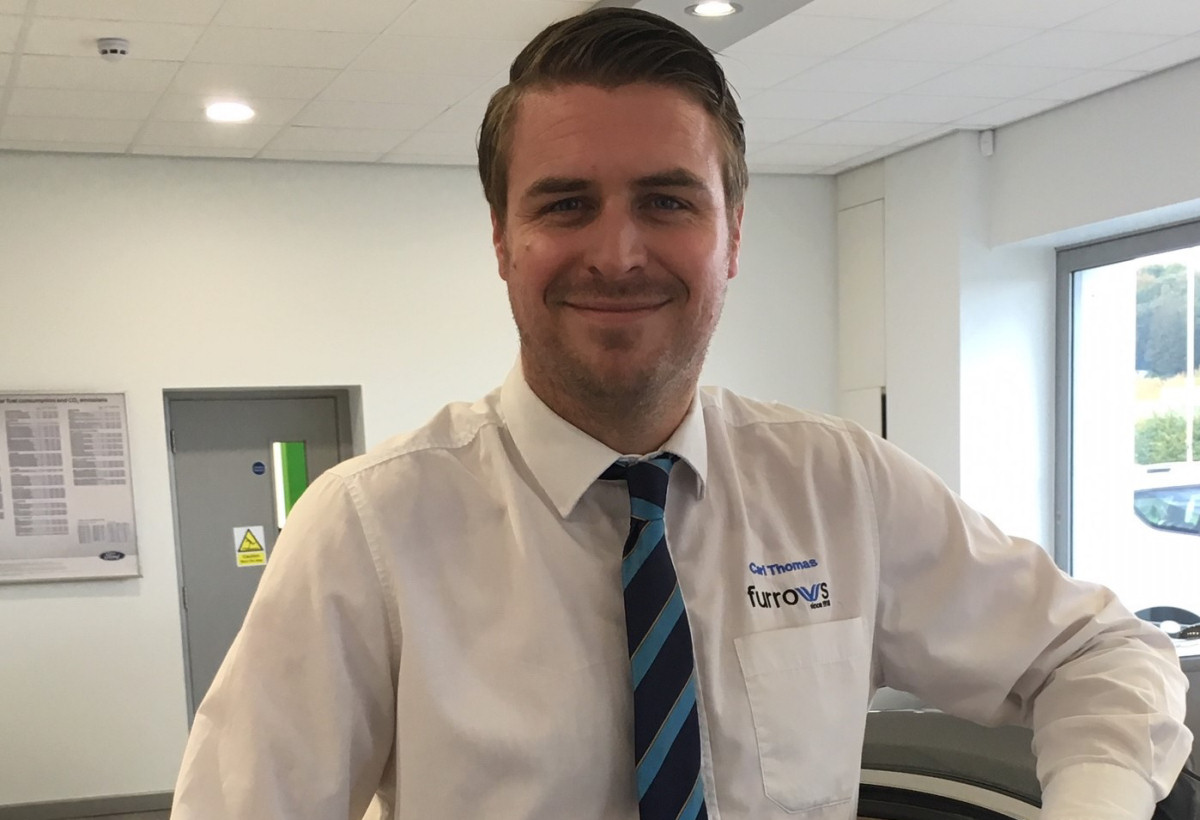 Carl Thomas is the new Service Manager at Furrows of Oswestry
