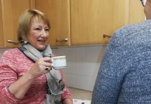 Hazel Davidson from Whitchurch, has been volunteering for Good Neighbours for six months