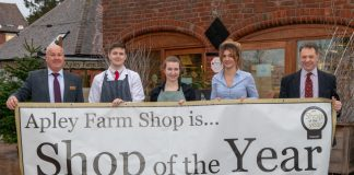 John Wesley (General Manager), Harry Smith (Apley Butchery), Charley Morris Ridge (Creamery Café), Lora Rogers (Food Hall Manager), Lord Hamilton (Apley Estate owner)