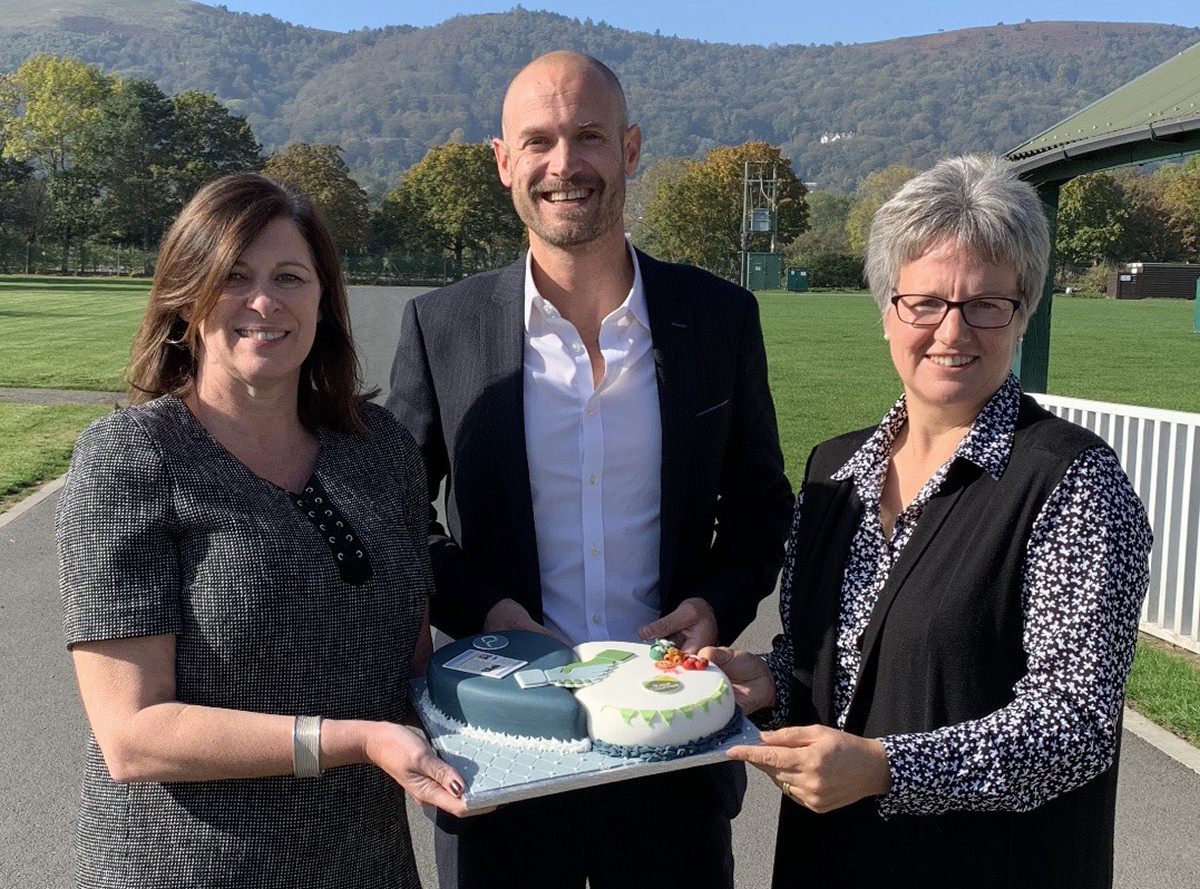 From left Suzy Hillier, Head of Commercial at Three Counties Showground, Nathan Rous founder and director of Nathan Rous PR and Diana Walton, Head of Shows at Three Counties Showground