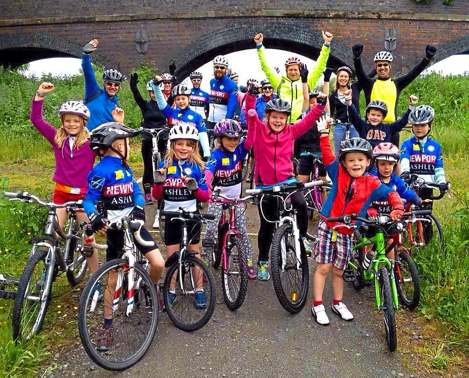 Newport Cycling Club is inspiring young people
