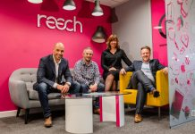 Robert Hughes, Paul Corbett, Dena Evans and James Brinkler of Reech Media