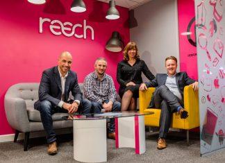 Robert Hughes, Paul Corbett, Dena Evans and James Brinkler of Reech Media