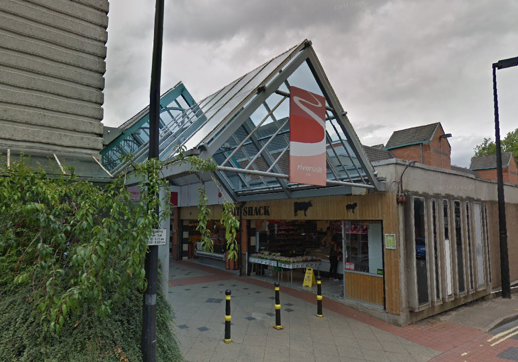 Riverside shopping centre in Shrewsbury. Photo: Google Street View
